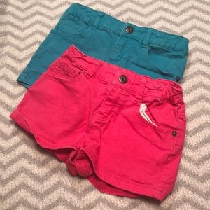 Pink and Blue Shorts